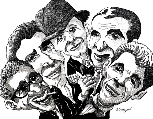 The Rat Pack by Bruce Outridge