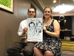 Degroote Formal 2017 Caricatures