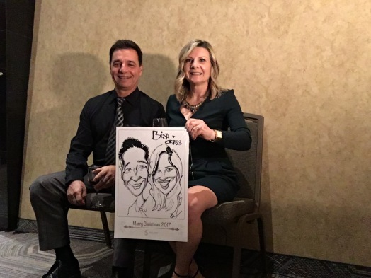 Solvay Christmas Party Caricatures