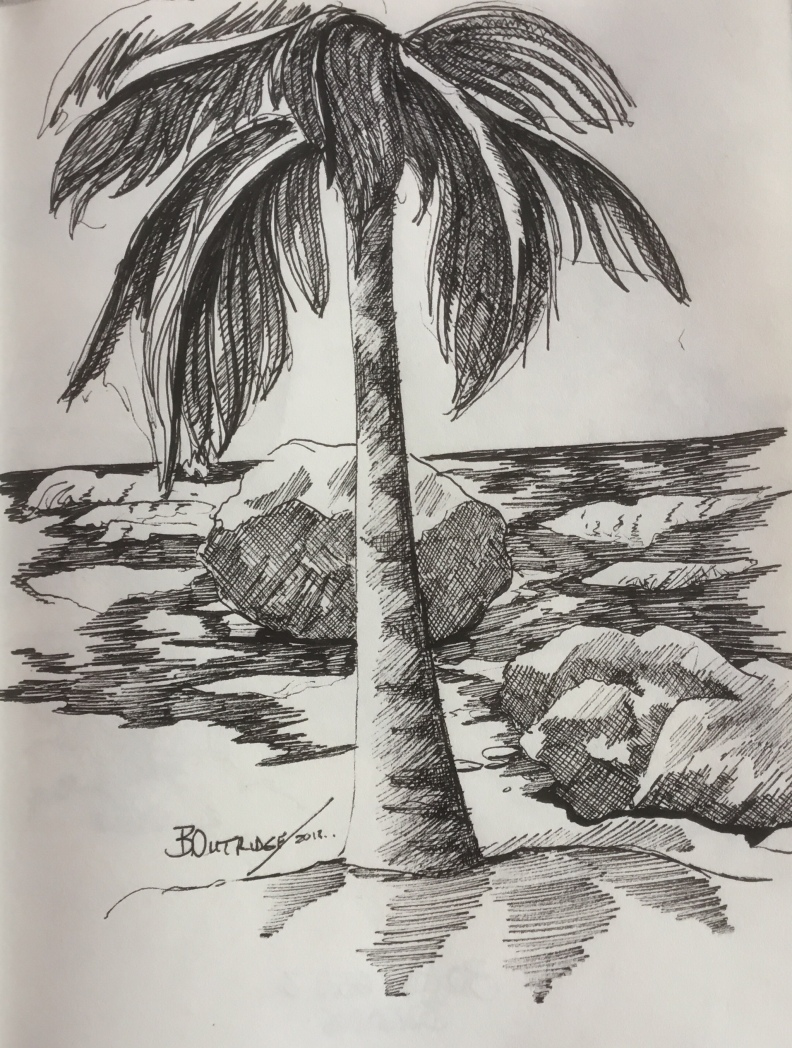 Bathsheba sketch 2 by Bruce Outridge