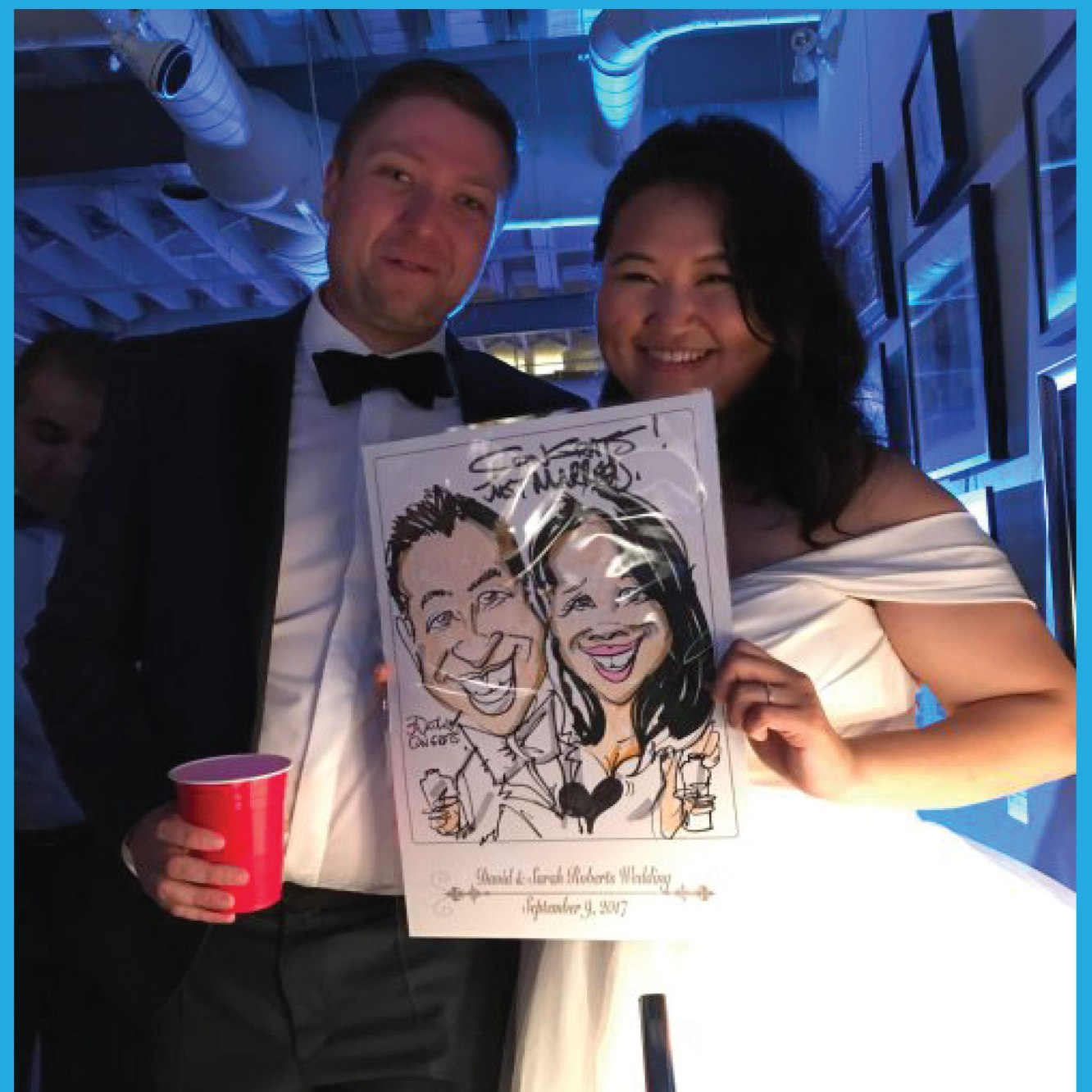 Live Caricature Entertainment
