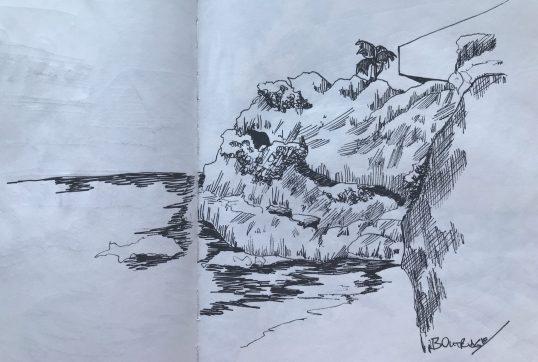 Crane sketch 1