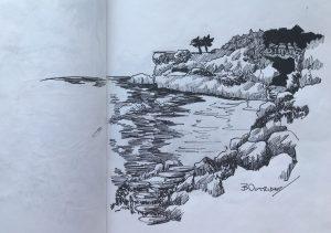 Crane Sketch 2