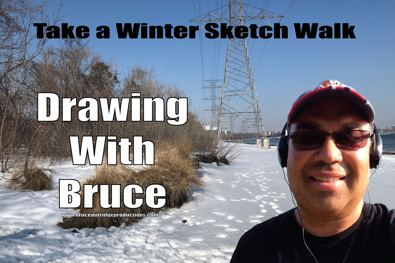 Winter Sketch Walk-Burlington ON