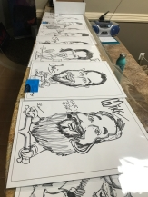 Gamma Powersports Caricatures