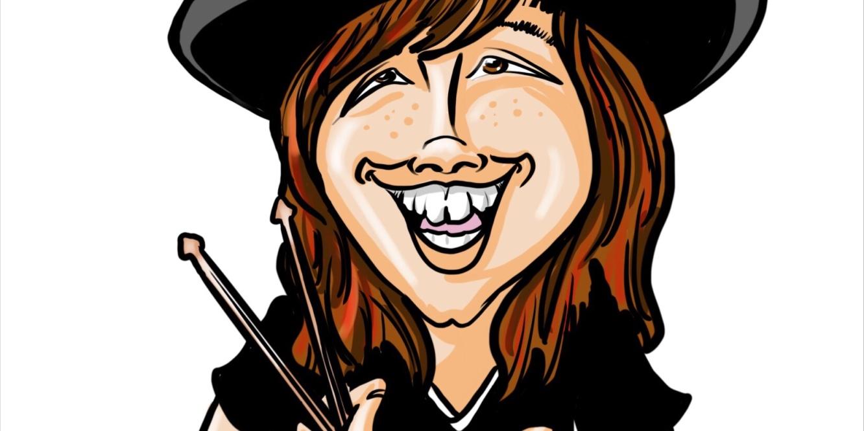 Carmelo caricature