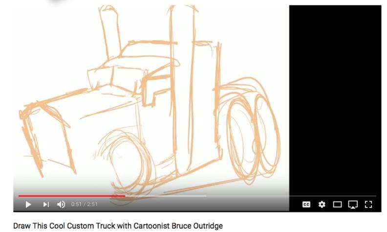 Custom truck Shape Stage
