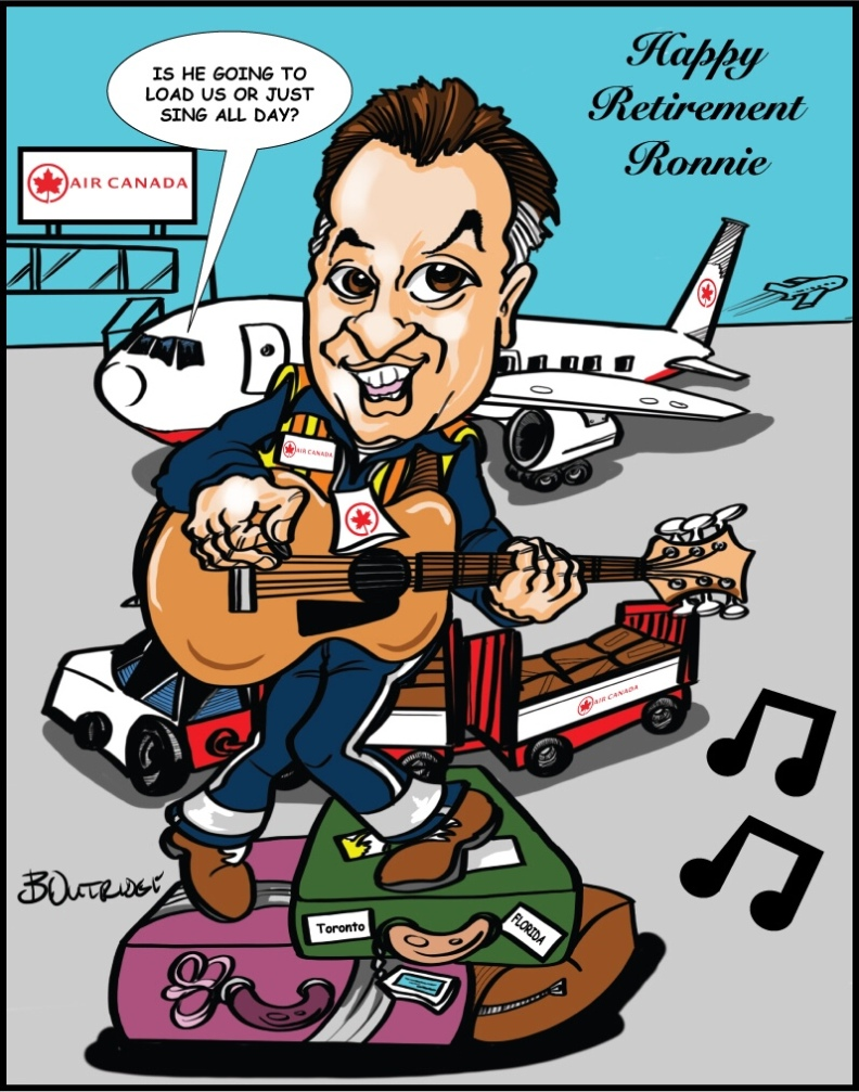 Ronnie Caricature