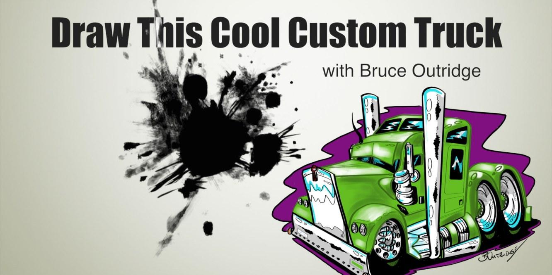 Draw-This-Cool-Custom-Truck