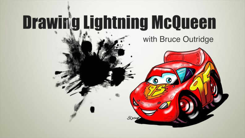Drawing-Lightning-McQueen