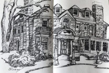 Paletta Mansion Sketch