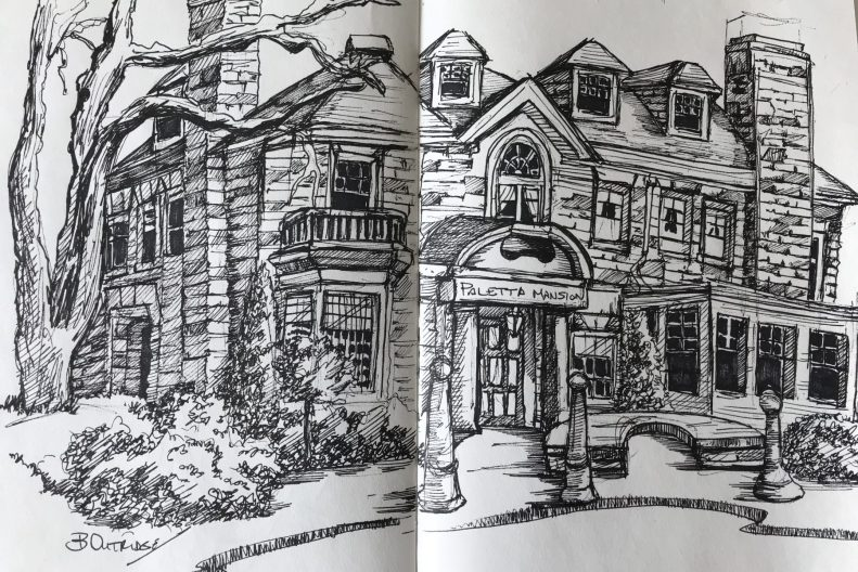 Paletta Mansion Sketch