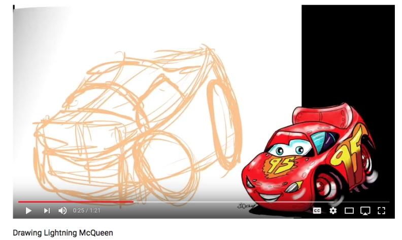 Lightning McQueen Shape