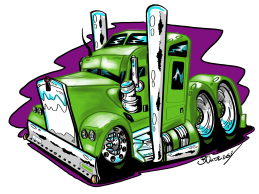 Custom Green Truck-Complete