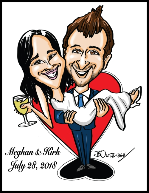 Meghan-and-Kirk-Gift-Caricature