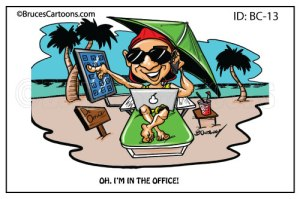 Cartoons from Bruce Outridge Productions