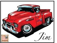Jim-Murray-Truck-Caricature