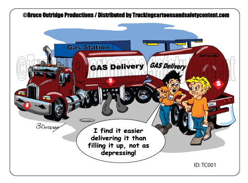 Tc 001 Cartoon Fuel Delivery Bruce Outridge Productions