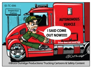 Trucking Cartoons by Bruce Outridge Productions