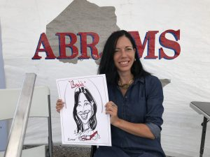 Abrams Towing Caricatures