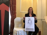 Caricatures-Aviva Insurance Event