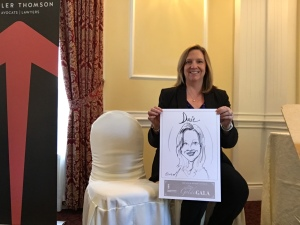 Caricatures-Aviva Insurance Event