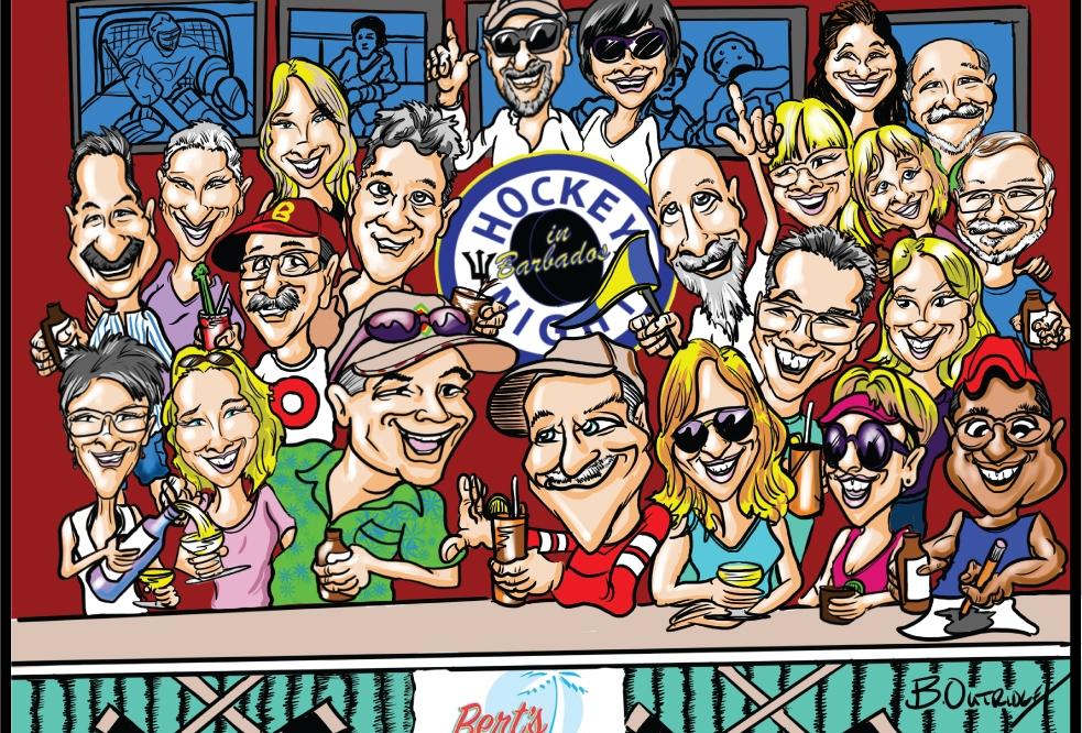 Hockey-Night-in-Barbados-Print