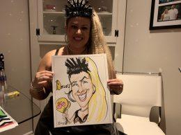 Ashley Jones Caricature Pictures