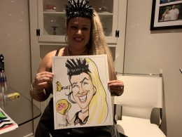 Ashley Jones Caricature Pictures