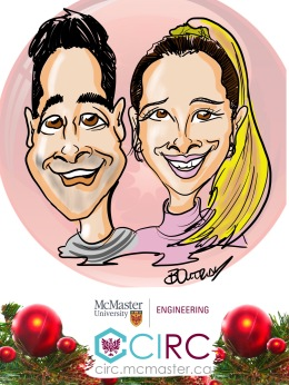 McMaster Engineering Digital Caricatures
