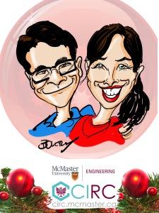 McMaster Engineering Digital Caricatures