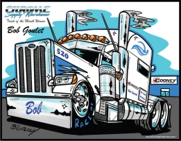 CSW-Bob-Goulet-Truck-Caricature