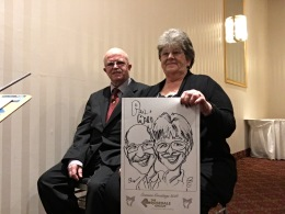 Rosedale Christmas Caricatures 2018