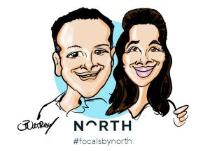 North Focals Digital Caricature Event