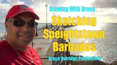 Sketching Speightstown Cover