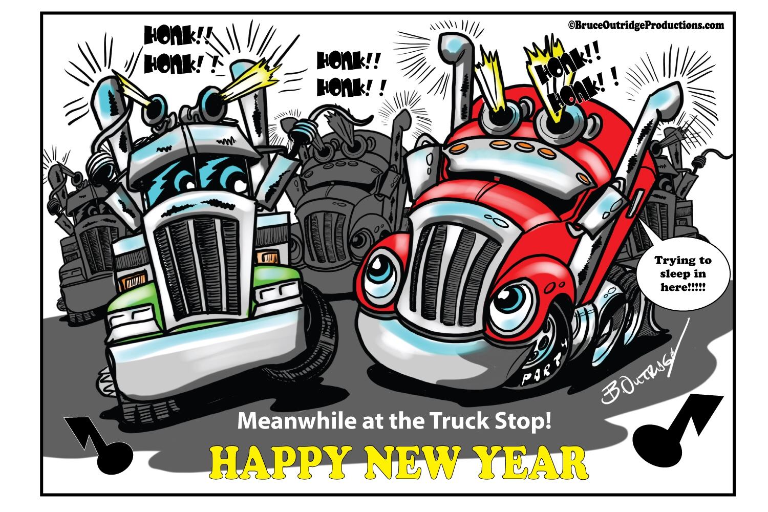 Cartoon of the Week-The Truck Stop Bash