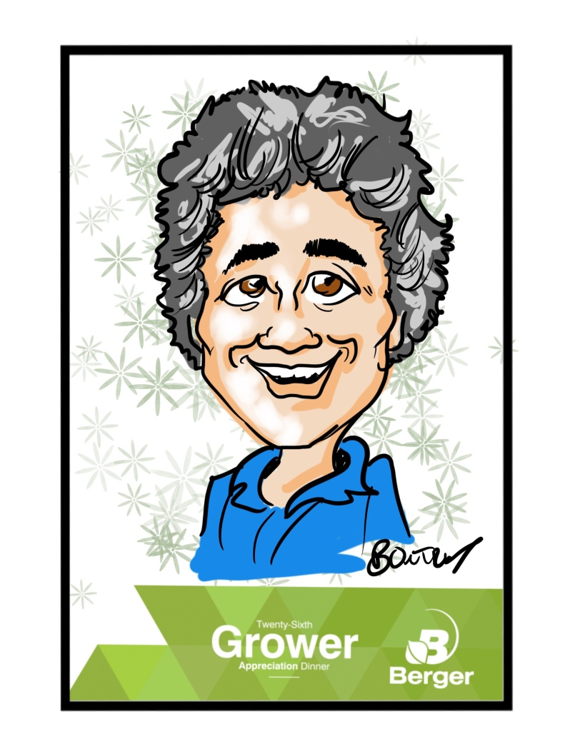 Berger Digital Caricature