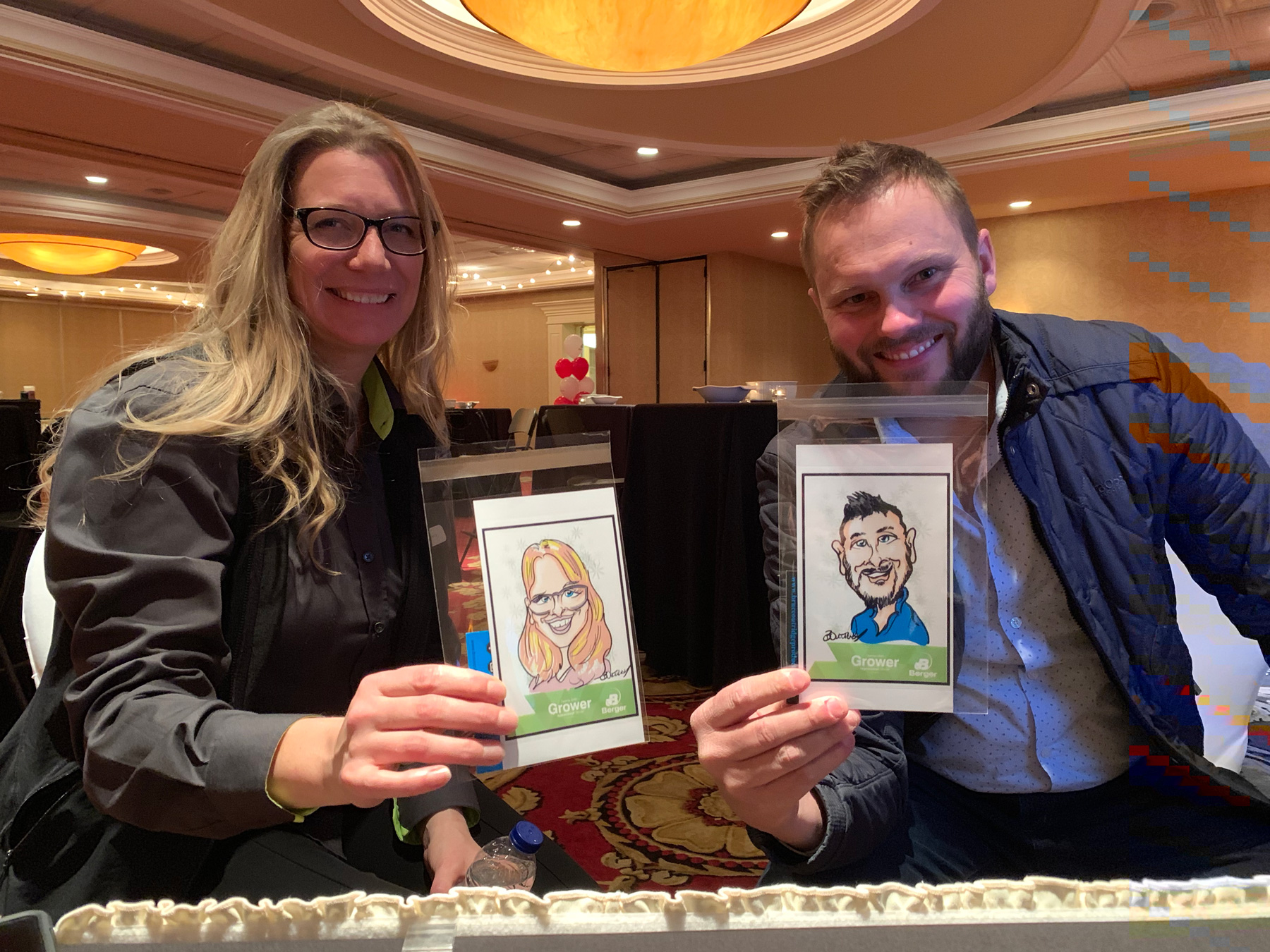 Berger Appreciation Dinner Digital Caricatures-Feb 13, 2019