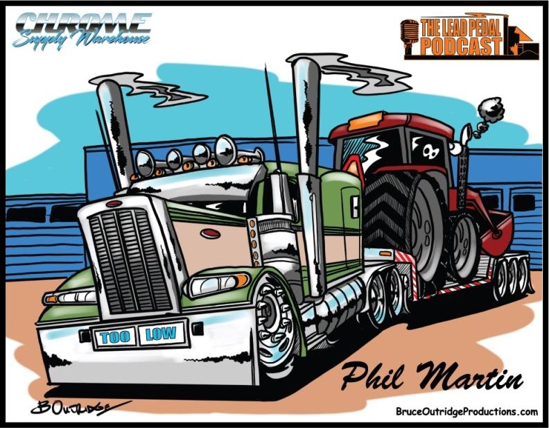 Truck caricatures