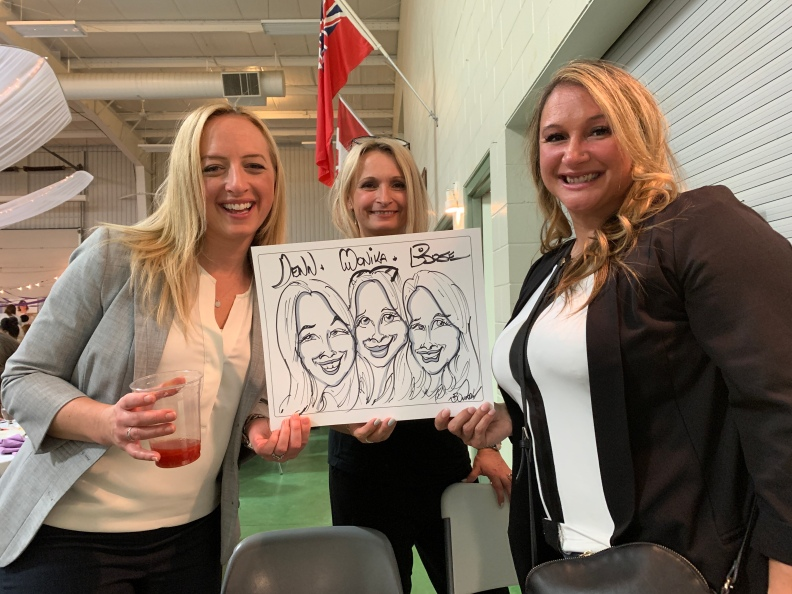 BCHS Foundation Caricatures