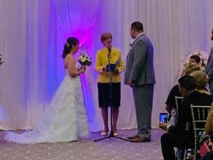 Chantell and Shawn Wedding