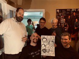 Mark's Birthday Caricatures
