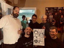 Mark's Birthday Caricatures