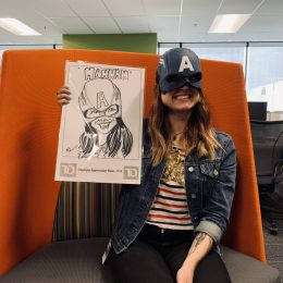 TD Employee Appreciation Week Caricatures