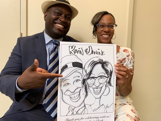Wedding Caricatures are a Hit!-Testimonial