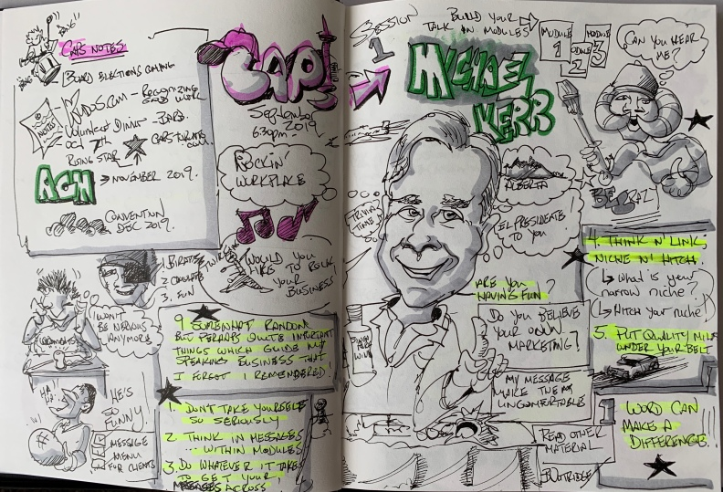 Graphic Scribing by Bruce Outridge
