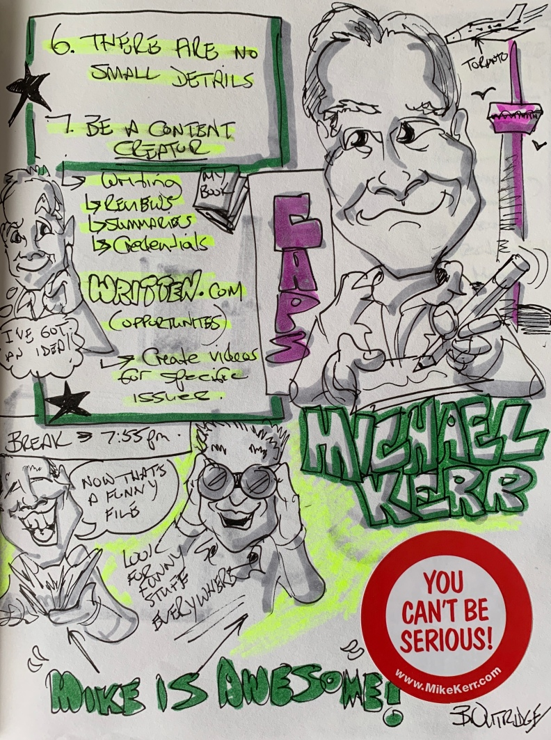 Mike Kerr graphic Recording