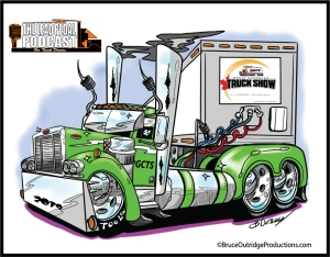 Great-Canadian-Truck-Show-Truck-Caricature