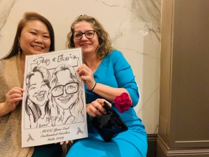 BMO Christmas Party Caricatures