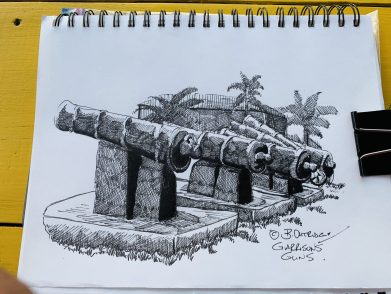 Garrisons Cannon Sketch Walk